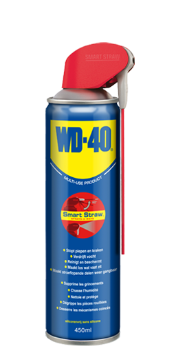 WD 40 Original 450ml Smart Straw