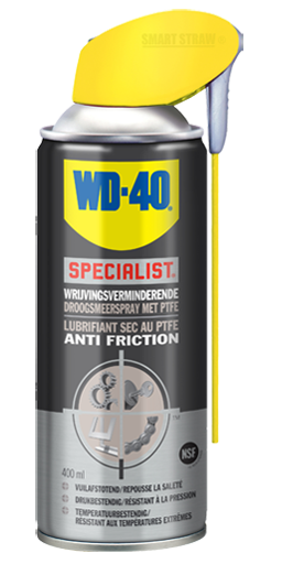 WD 40 Specialist Lubrifiant Sec PTFE Anti Friction Wrijvingsverminderende Droogsmeerspray PTFE